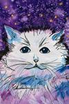 """Digby"" - Cosmic Cat art by Renee Ekleberry"