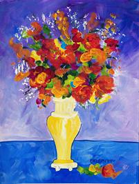 Ekleberry Art Painting - Flowers & Gardens Prints and original art  ekleberry.com