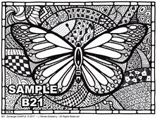 B 21 Butterfly SAMPLE idea