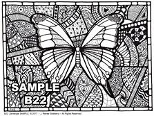 B 22 Butterfly SAMPLE idea