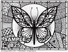 B 25 Butterfly SAMPLE idea