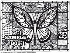 B 02 Butterfly SAMPLE idea