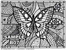 B 07 Butterfly SAMPLE idea