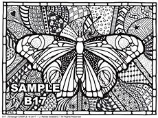 B 17 Butterfly SAMPLE idea