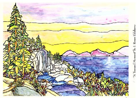 5x7 print of A Tranquil Moment by J. Renee Ekleberry